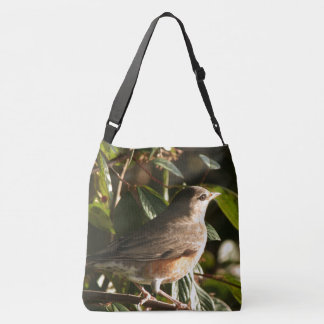 Robin Redbreast Bird Wildlife Animal Tote Bag
