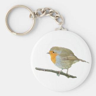 Robin Redbreast Keychain