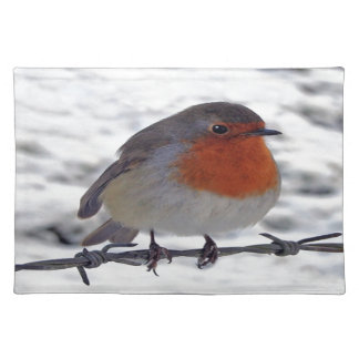Robin Redbreast Placemats