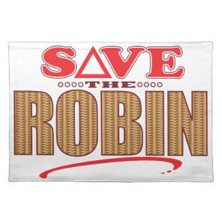 Robin Save Place Mats