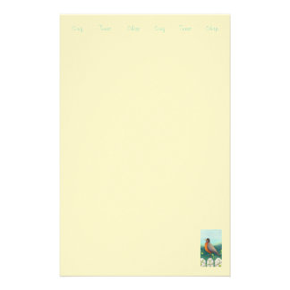 Robin stationary / Artist Sally Coupe JacobsonSimp Stationery