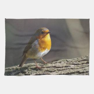 Robin Tea Towel
