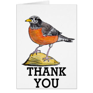 Robin Thank You Cards