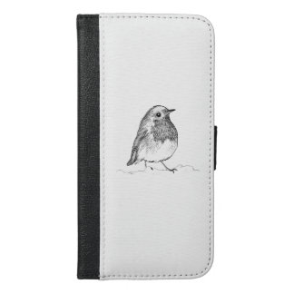 Robin Wallet Phone Case, British Bird