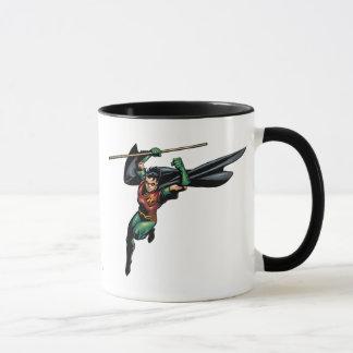 Robin with Staff - Leaps Mug