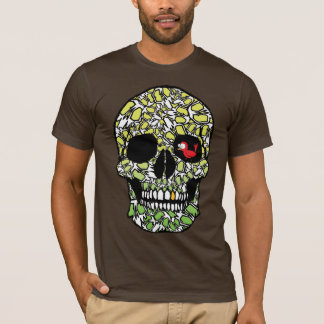 Robin' with the Skull(Greens) T-Shirt