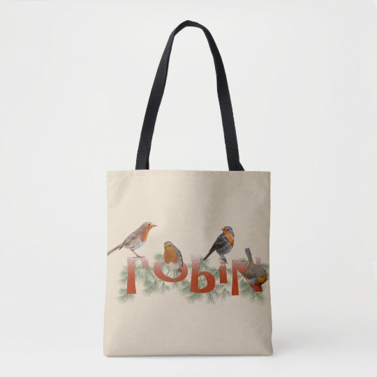 Robins All Over Print Bag