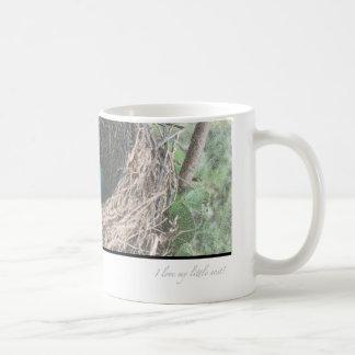 Robins Eggs in Nest Classic White Coffee Mug