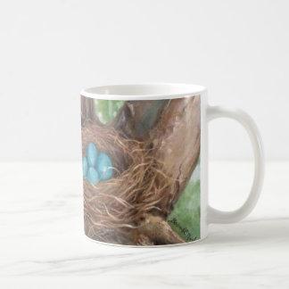 Robin's Nest Art Mug