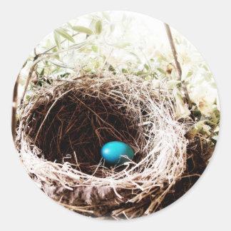 Robin's Nest Classic Round Sticker