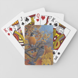 Robins Playing Cards