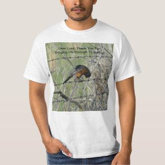 Robin's Spring Prayer Of Thanks T-Shirt
