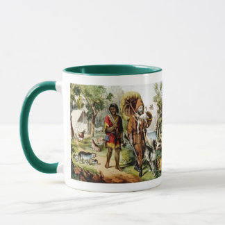 Robinson and His Man Friday Mug