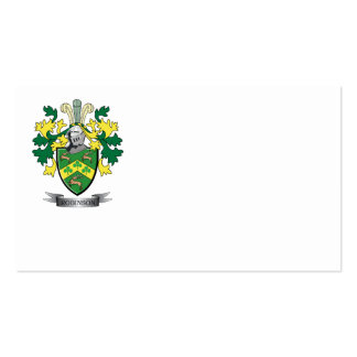 Robinson Coat of Arms Business Card