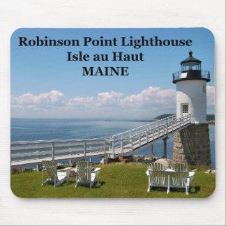 Robinson Point Lighthouse, Maine Mousepad