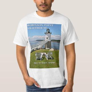 Robinson Point Lighthouse, Maine T-Shirt