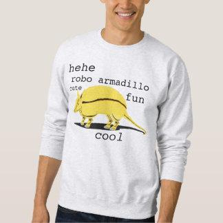 robo armadillo sweatshirt