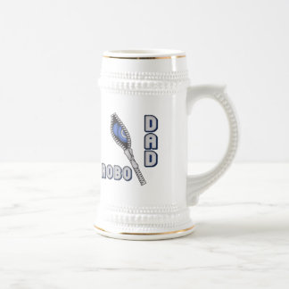 Robo Dad Father's Day Gifts Beer Steins