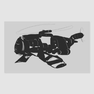 Robo Helicopter Sticker