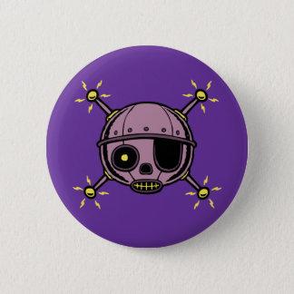 Robo Pirate 2 Inch Round Button