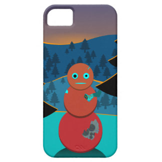 Robo' snowman case for the iPhone 5