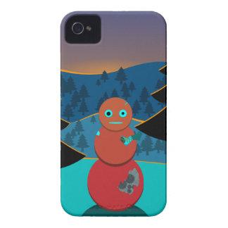 Robo' snowman Case-Mate iPhone 4 case