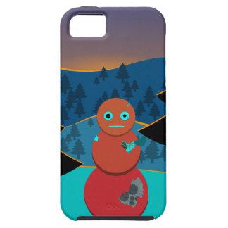 Robo' snowman iPhone 5 cases