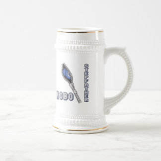 Robo Stepfather Father's Day Gifts 18 Oz Beer Stein