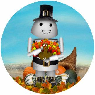 Robo-x9 Celebrates Thanksgiving Photo Cutouts