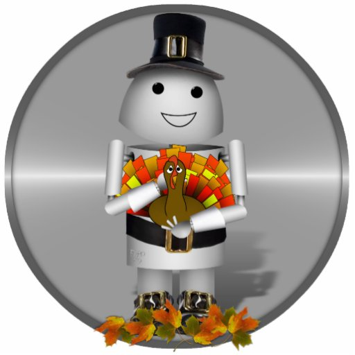 Robo-x9 Celebrates Thanksgiving Photo Sculptures