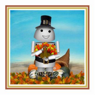 Robo-x9 Celebrates Thanksgiving Photo Cutout