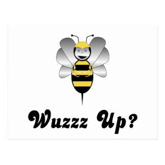 Robobee Bumble Bee Wuzz Up Postcard