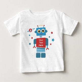 Robot 1st Birthday PD Baby T-Shirt