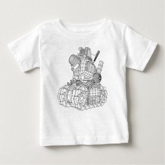 robot-2 baby T-Shirt