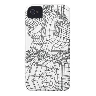 robot-2 Case-Mate iPhone 4 case