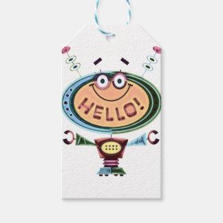 Robot 2 gift tags