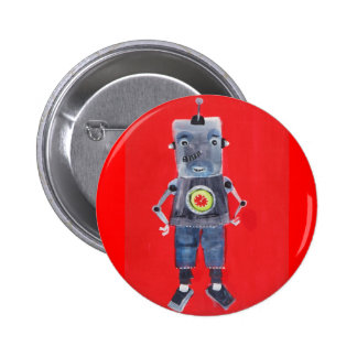 ROBOT 2 INCH ROUND BUTTON
