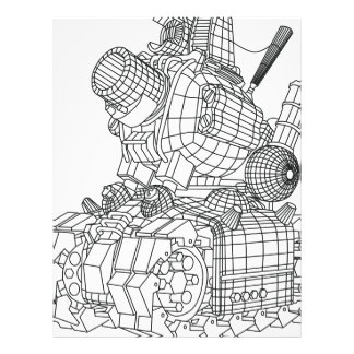 robot-2 letterhead
