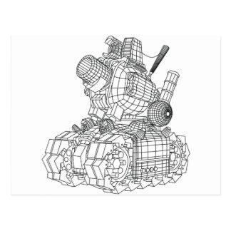 robot-2 postcard