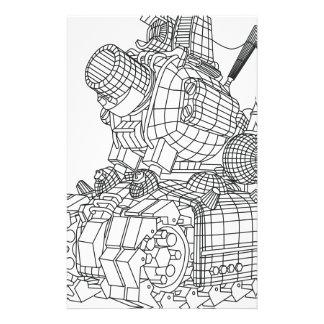 robot-2 stationery
