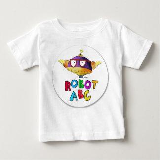 Robot ABC circle logo Baby T-Shirt