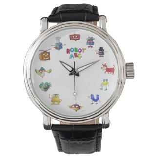 Robot ABC watch