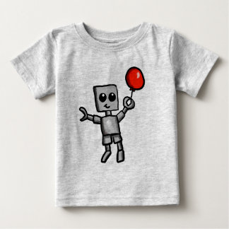 Robot and Red Balloon Shirt