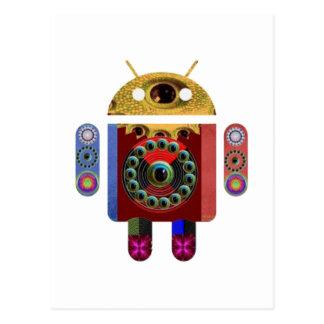 Robot ANDROÏDE Carte Postale