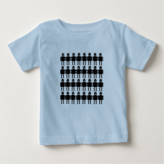Robot Army Baby T-Shirt