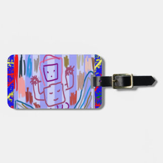 ROBOT ART by KIDS Luggage Tag