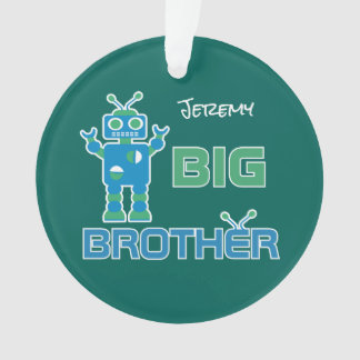 Robot Big Brother Boys Personalized Kids Sibling