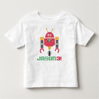 Robot Birthday Toddler T-shirt