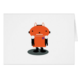 Robot Greeting Cards
