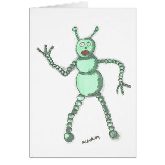 Robot Card with envelope